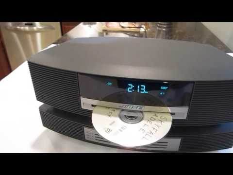 Bose Wave Radio with CD Changer Demo