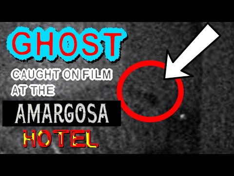 GHOST CAUGHT ON TAPE at AMARGOSA HOTEL! [2016] Amargosa Oper