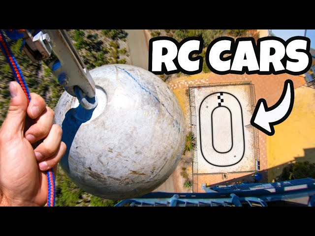 DODGING VERY HEAVY STUFF with RC CARS! (ROUND 3)