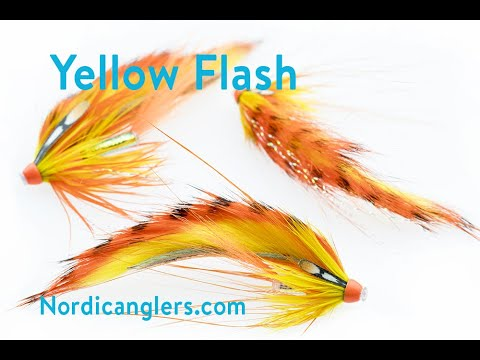 Fly Tying Instruction On How To Tie The Yellow Flash