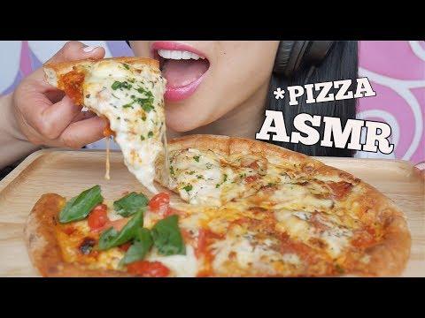ASMR PIZZA (EATING SOUNDS) | SAS-ASMR