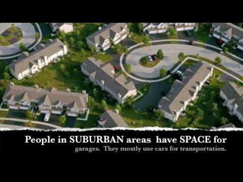 Urban, Suburban, & Rural