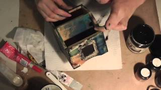 Grungy Desk Organizer With Kasia On Live With Prima