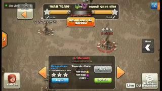 push de cv10 rumo a lendária Clash of clans