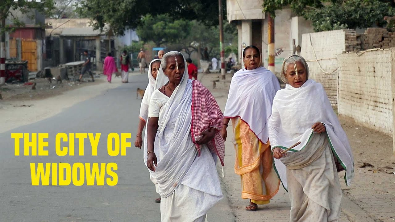 city of widows in india