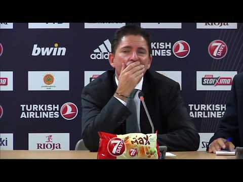 Euroleague Post - Game Press Conference: Panathinaikos OPAP