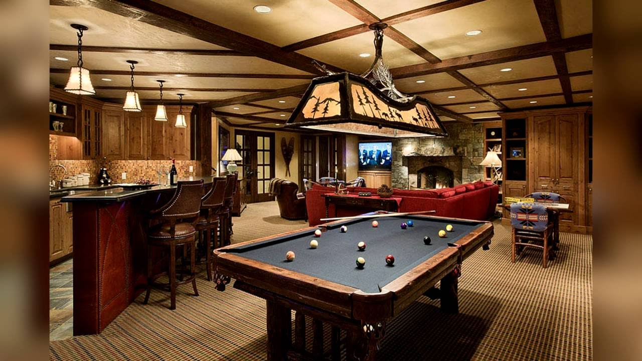 Man Cave Shed Loft : Amazing man caves youtube
