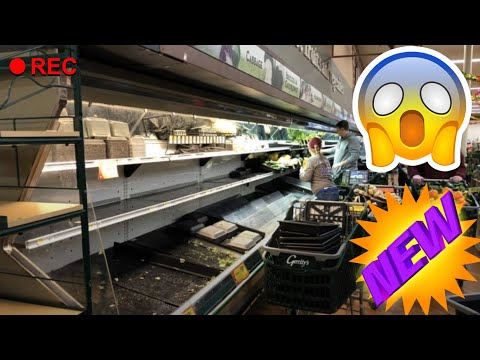 CORONAVIRUS WOMAN COUGHS ON FOOD IN GROCERY STORE! SMH 🤬 FOOTAGE INCLUDED