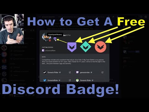 How To Get A Free Discord Badge (detailed Explanation)