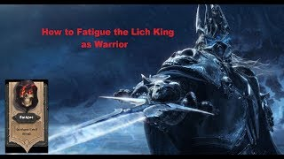 A Guide On Beating The Lich King with the Warrior Class! Mill it up!