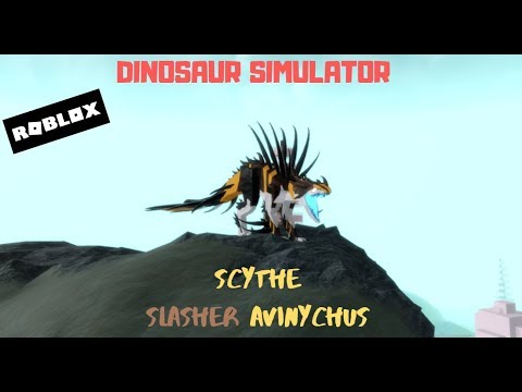 Scythe Slasher Avinychus Roblox Dinosaur Simulator Showcase