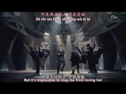 EXO - 狼與美女 Wolf (Chinese version) MV [English subs + Pinyin + Chinese]
