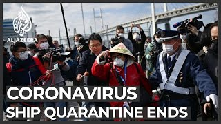 Passengers begin leaving Diamond Princess ship as quarantine ends