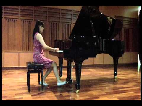 Nathania plays Prelude & Fugue in C minor WTK II BWV 871 - J.S. Bach