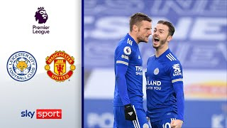 Eigentor kostet Man Utd. den Sieg | Leicester - Manchester United 2:2 | Highlights - Premier League