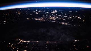 ISS Timelapse - Middle East night pass (08 Giugno 2015)