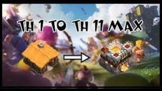 How to be max in very less time clash of clans!!! by ReVoLuTioN GaMinG