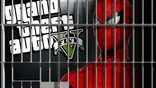 Spider-Man Far From Home Goes to PRISON MOD (GTA 5 PC Mods Gameplay)