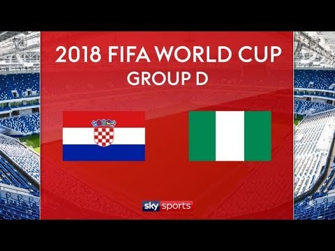 Croatia vs nigeria live stream world cup 2018
