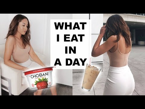 WHAT I EAT IN A DAY | Marie Jay