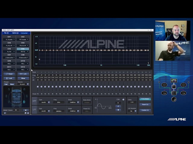 Alpine | Brand Specialist Spotlight | Setting Up Your PXE-0850S Processor