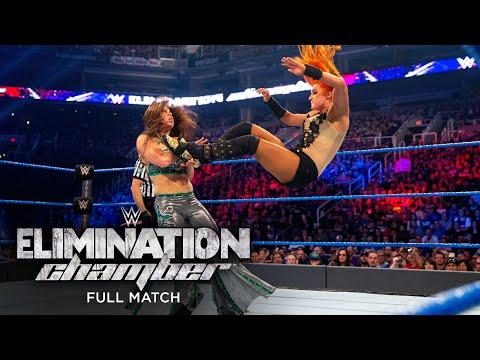 FULL MATCH - Becky Lynch vs. Mickie James: Elimination Chamber 2017