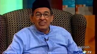 Tafsir Al Mishbah MetroTV  - Isra Miraj (10 Juli 2010)