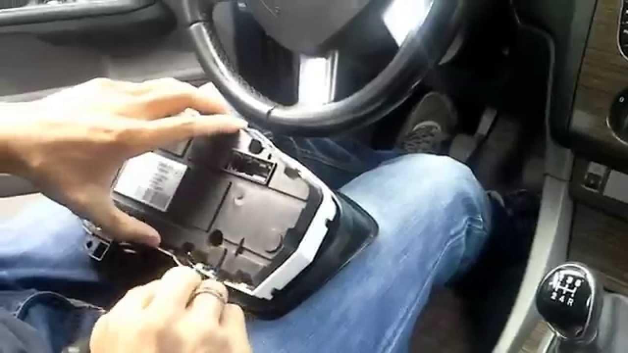 снять панель приборов ford s max