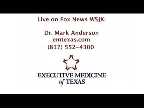 Dr. Mark Anderson with Healthcare Associates of Irving featured on the radio - March 2013