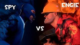 Team Fortress 2 z widzami: Spy vs Engineer