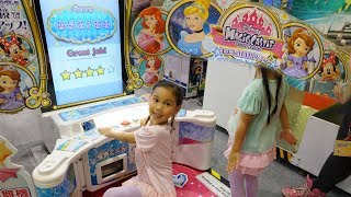 迪士尼公主魔法城堡體感遊戲機 disney magic princess 大型遊戲機台 玩具遊戲 親子體育遊戲試玩 球類玩具遊戲機 Sunny Yummy running toys 跟玩具開箱 thumbnail