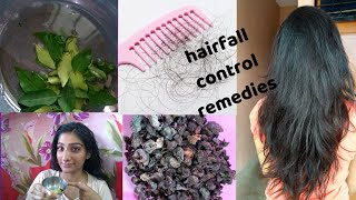 Hair fall solutions || 100% working remedies to stop hair fall permanently || #haircare
