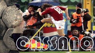 Cassano Antonio ( Roma ) spacca la bandierina e la Juventus ( 4 a 0 )  commento di Zampa