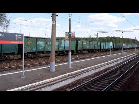 БМО Куровская - Давыдово - 88 км из окна ЭР2Р-7013