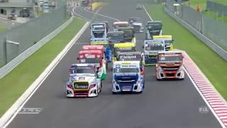 FIA ETRC 2018 #02 Hungaroring international Highlights -  english