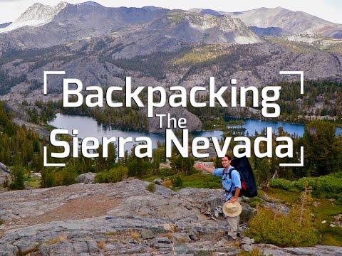 Backpacking California's Sierra Nevada Mountains