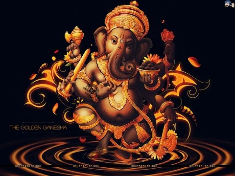 Ganesh Dwadasa Nama stotram (English Lyrics with Meaning HD)