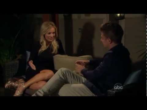 Jef and Emily on Episode Two of The Bachelorette 8