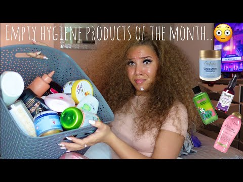 MY EMPTY HYGIENE PRODUCTS OF THE MONTH + REVIEWS!!