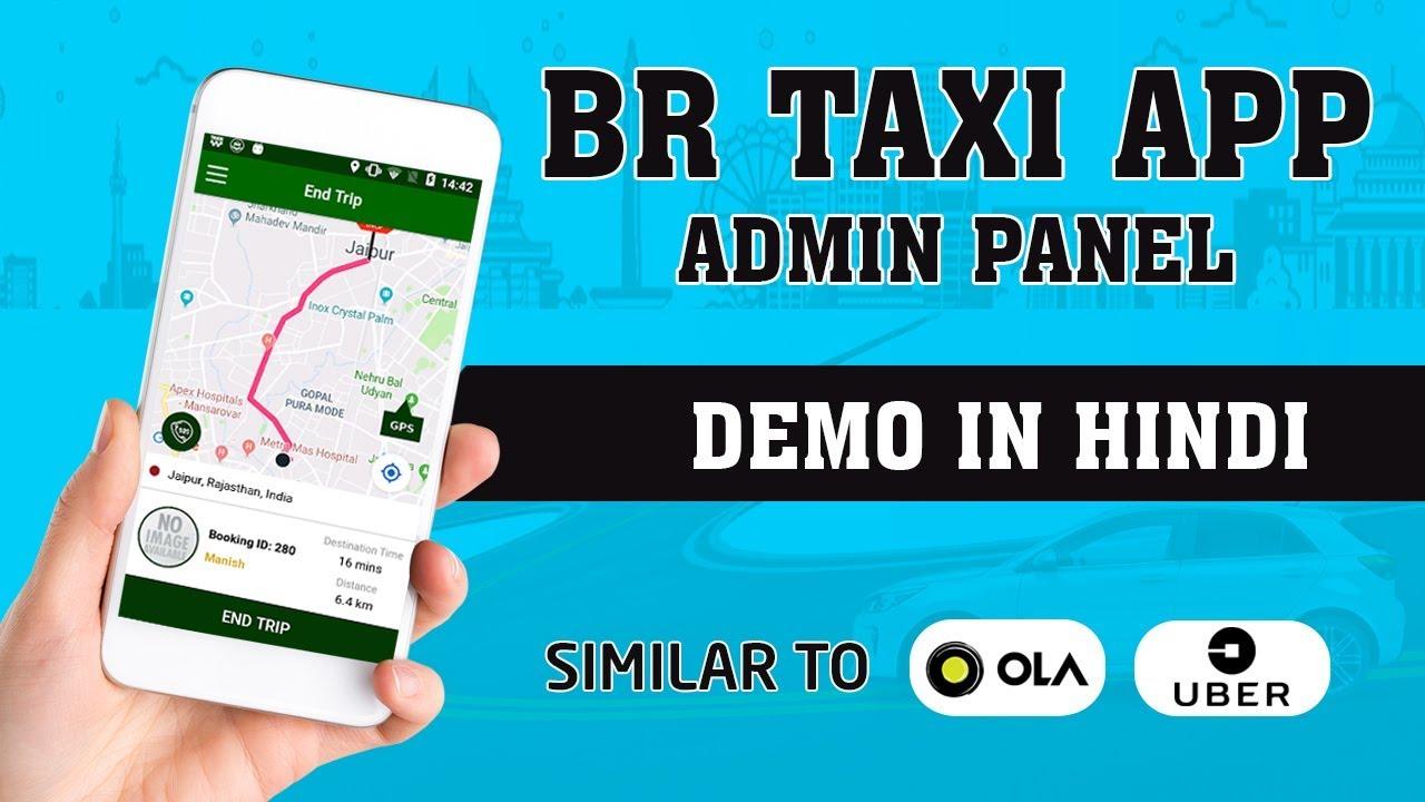Taxi App like Uber Ola Admin Panel Demo
