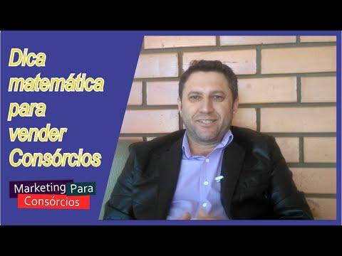 DICA MATEMÁTICA PARA VENDER CONSÓRCIO