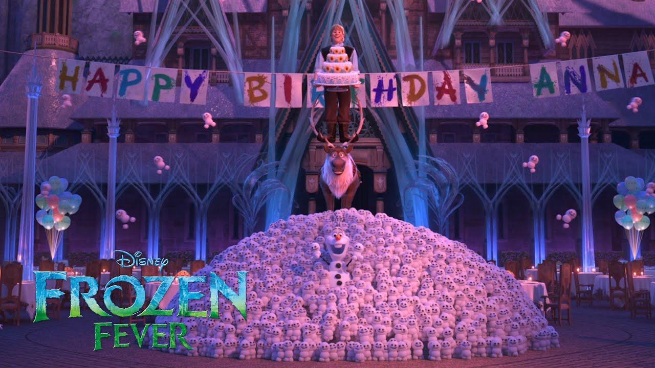 Frozen Fever   Het dorp verrast Anna   Disney NL