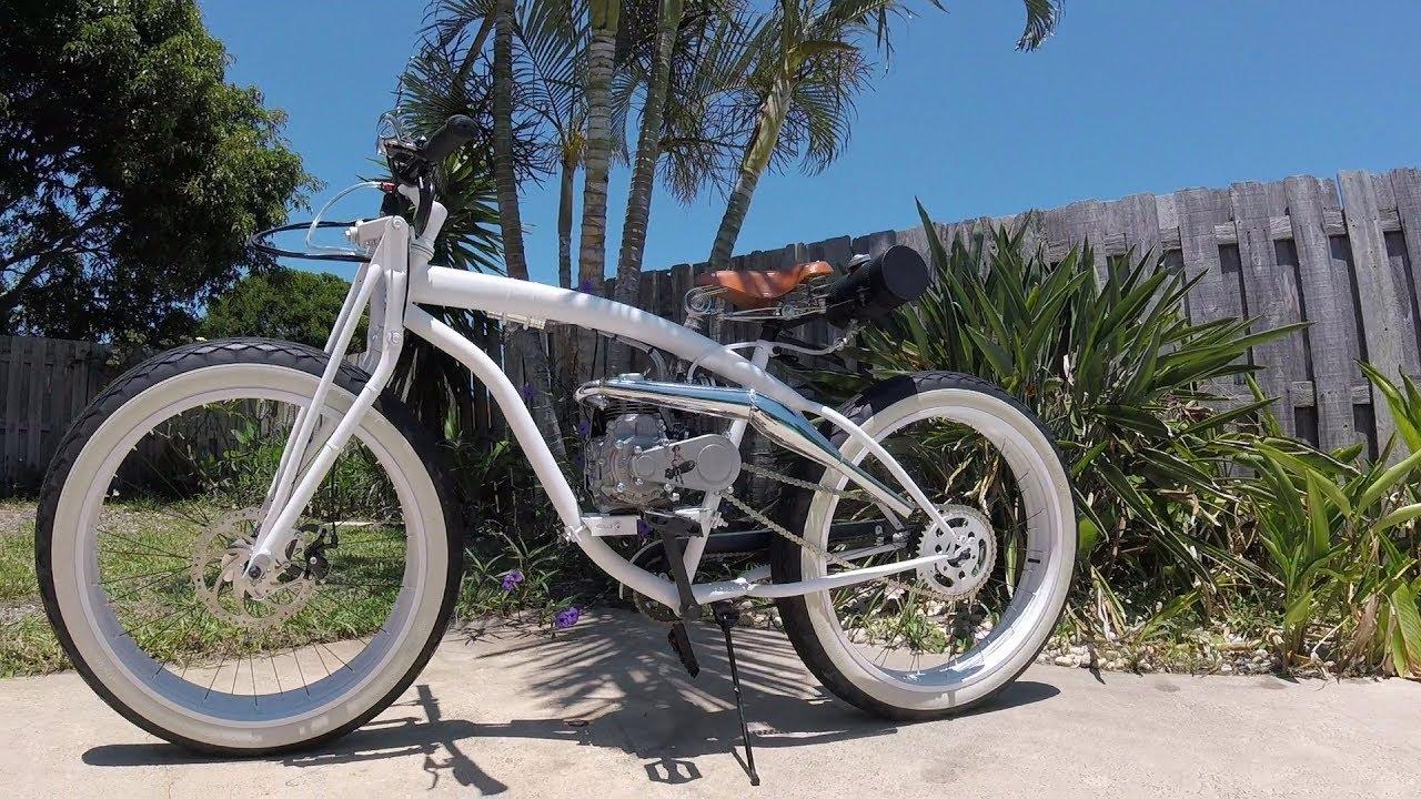 Fat Bike Motorized Beach Cruiser Bobbers
