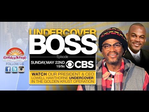 Golden Krust UNDERCOVER BOSS Promo Video - Sunday, May 22nd 2016 @ 10pm on CBS