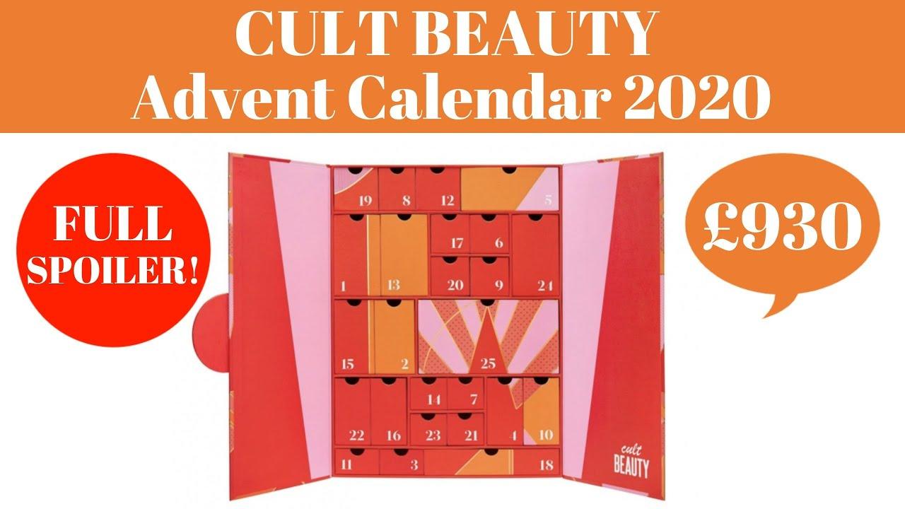 Cult Beauty Advent Calendar 2020 Unboxing Waitlist Open Now Spoiler Worth Over 930 Youtube