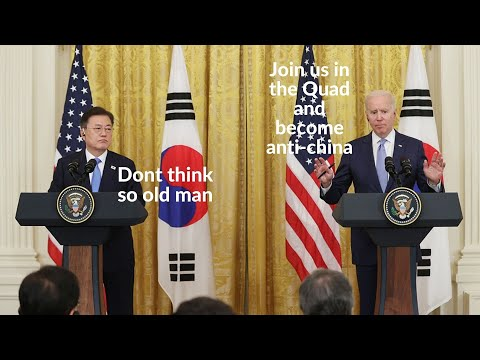 US attempt to decouple China-South Korea has failed: South Korea refusing to join anti-china QUAD.