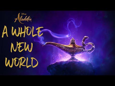 mena-massoud-&-naomi-scott---a-whole-new-world-(aladdin-2019)-||-lyrics-video
