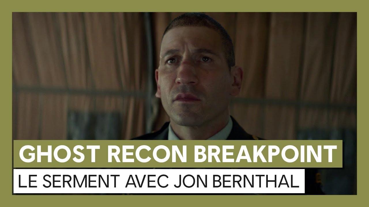 Ghost Recon Breakpoint : Trailer live action avec Jon Bernthal - Le Serment
