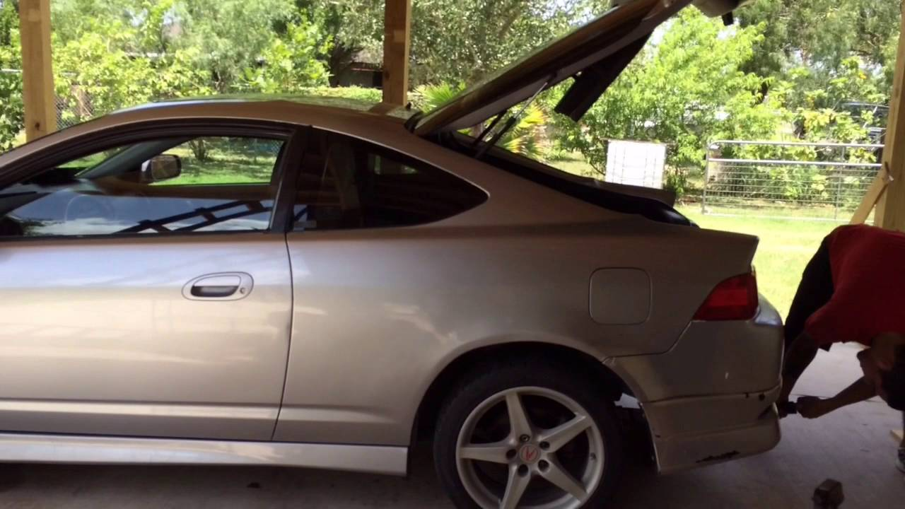 Lowering Springs On RSX Type S YouTube - Acura rsx lowering springs