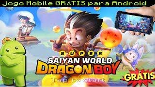 Dica de jogo Super saiyan World Dragon Boy trailer + gameplay + DOWNLOAD FREE